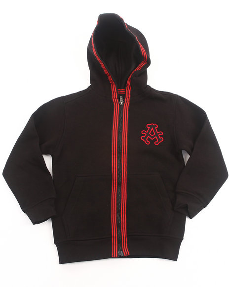 Akademiks - SIGNATURE FLEECE FULL ZIP HOODY (4-7)