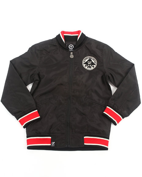 LRG Boys Black Sapwood Track Jacket (8-20)