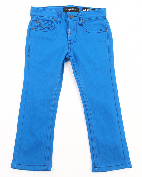 LRG - Boys Blue Naturalist Skinny Colored Jean (4-7)