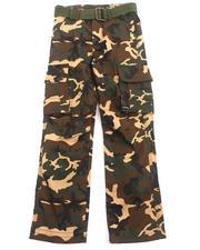 Boys - Camo Cargo Pants (8-20)