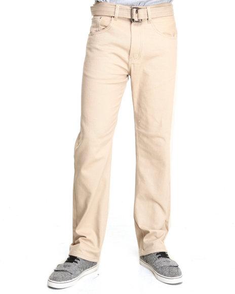 Basic Essentials Khaki Colored Twill Pants