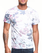 T-Shirts - Old Floral Sublimated Tee