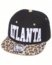 Men - Atlanta Leopard print snapback hat