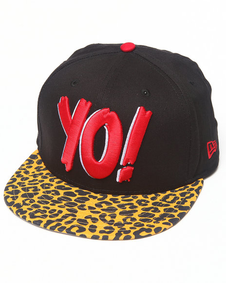 New Era - Yo! MTV Raps Animal Print Snapback Hat