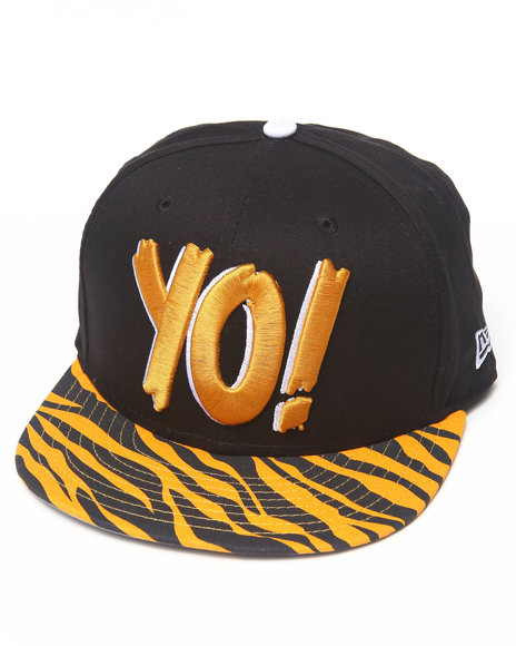 New Era - Men Animal Print Yo! Mtv Raps Animal Print Snapback Hat