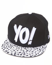 Men - Yo! MTV Raps Animal Print Snapback Hat
