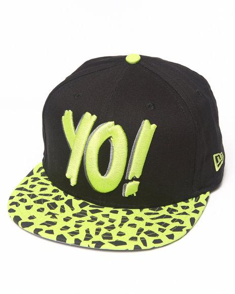 New Era - Men Lime Green Yo! Mtv Raps Animal Print Snapback Hat