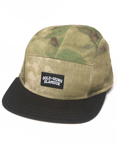 Crooks & Castles G3 Woven 5-Panel Cap Camo
