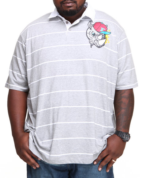 Ecko - Men Grey Component Polo (B&T)