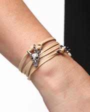 Holiday Gift Ideas - Plus Size - Arboretum Bull Skull Bracelet