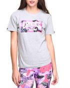 flowerbomb core logo t-shirt