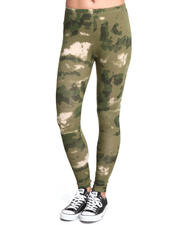 Women - French Camo Knit Leggings