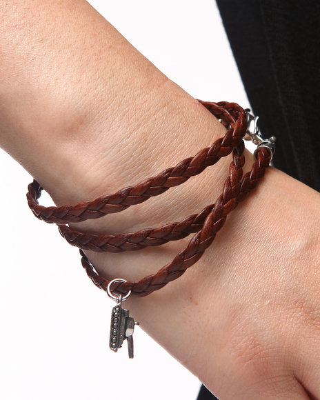 Uranium Blind Bracelet Dark Brown
