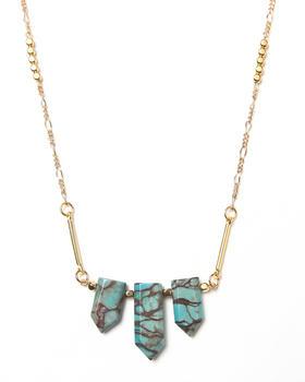 Uranium - Cubist Necklace