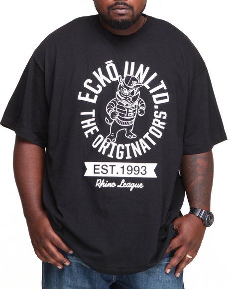 Ecko Black Originators T-Shirt (Big & Tall)