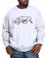 Men - Right on Crew Fleece Sweater (B&T)