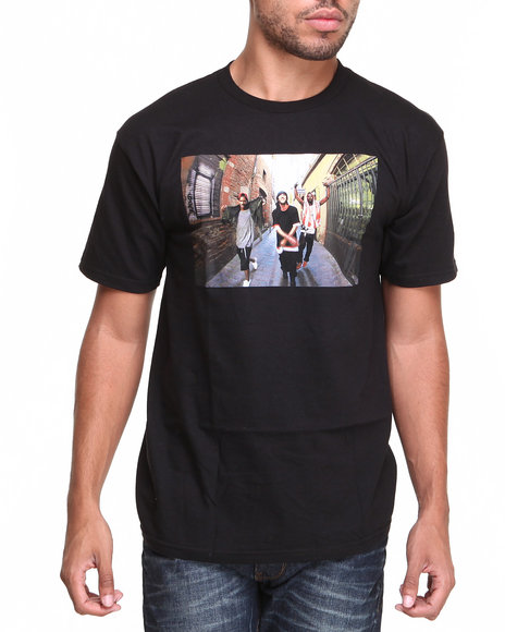 Supra - Men Black Alley Tee