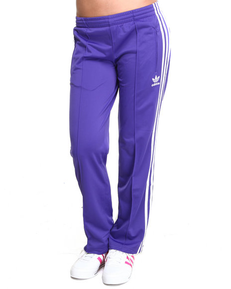Adidas Purple Adi Firebird Track Pants