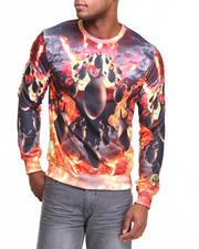 S - M - W - Drop Bombs Crewneck Sweatshirt