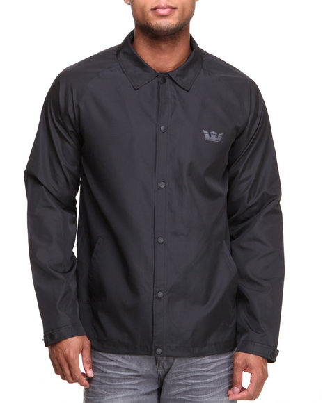 Supra - Men Black Coaches Jacket
