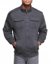 Men - Quilt Lined Fleece Jacket
