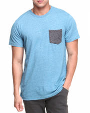 Volcom - Solid Mock Twist Pocket Tee