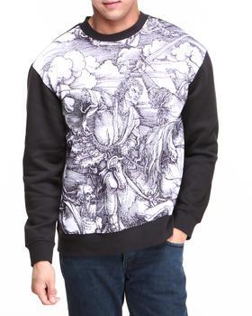 L.A.T.H.C. - Five Horsemen Crewneck Fleece Sweatshirt