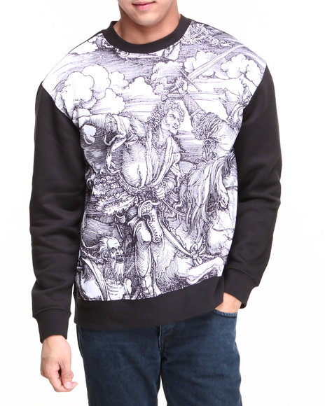 L.A.T.H.C. - Five Horsemen Crewneck Fleece Sweatshirt