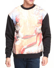 L.A.T.H.C. - Egyptian Gods Crewneck Fleece Sweatshirt