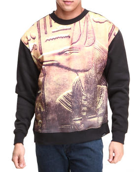 L.A.T.H.C. - Anuba Crewneck Fleece Sweatshirt