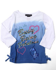 Baby Phat - BEING FABULOUS TEE (4-6X)