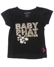 Girls - BABY PHAT FOREVER TEE (2T-4T)