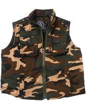 Outerwear - Camo Vest (2T-4T)