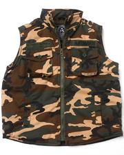 Outerwear - Camo Vest (4-7)