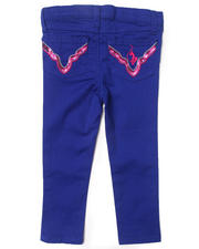 Bottoms - COLORED TWILL JEANS (2T-4T)
