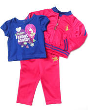 Infant & Newborn - 3 PC TRICOT SET (NEWBORN)