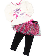 "Girls - 2 PC ""FOLLOW YOUR DREAMS"" SET (INFANT)"