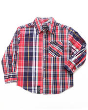 Button-downs - HIER EARNING WOVEN (8-20)