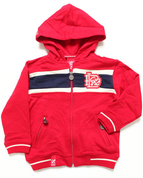 LRG Boys Red 47 Grams Hoody (8-20)