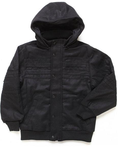 Arcade Styles - Boys Black Empire State Jacket (8-20) - $23.99