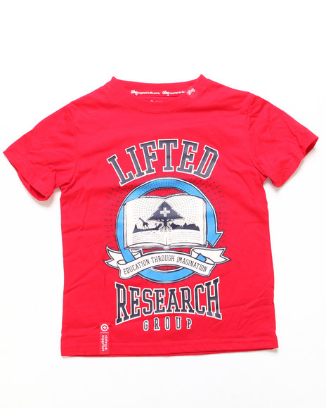 LRG Boys Red Reason For A Season Tee (4-7)