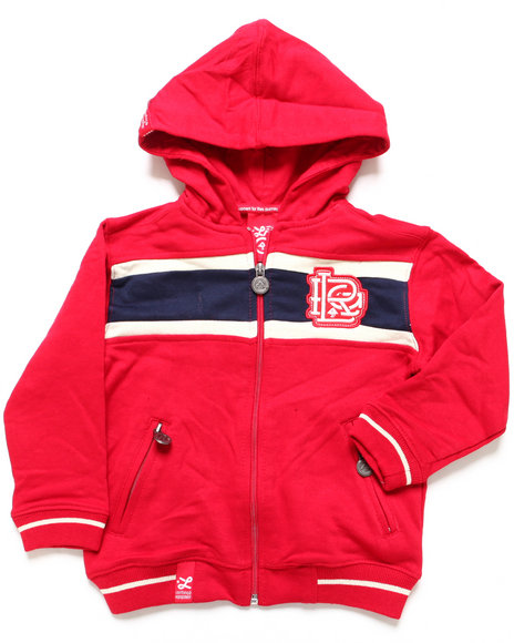 Lrg - Boys Red 47 Grams Hoody (4-7)