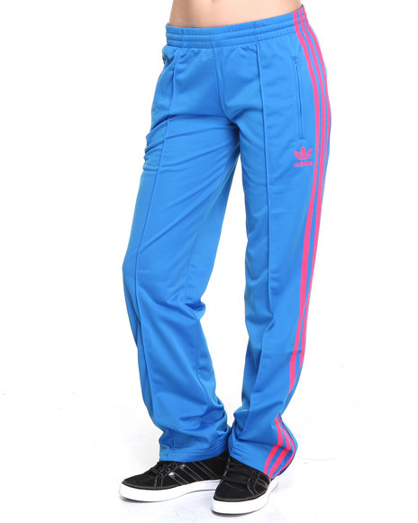Adidas - Women Blue Adi Firebird Track Pants