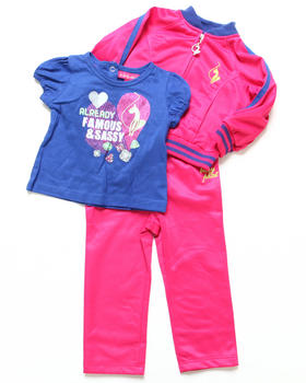 Baby Phat - 3 PC TRICOT SET (INFANT)