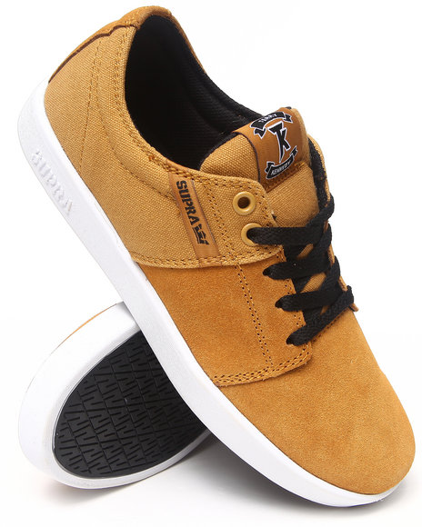 Supra Wheat Stacks Wood Thrush Suede Sneakers