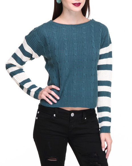 Fashion Lab - Women Green The Big Green Sporty Pullover
