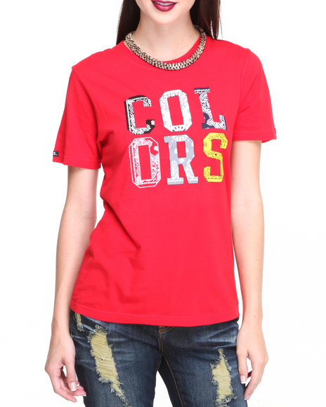 Crooks & Castles Red Colors Printed Tee