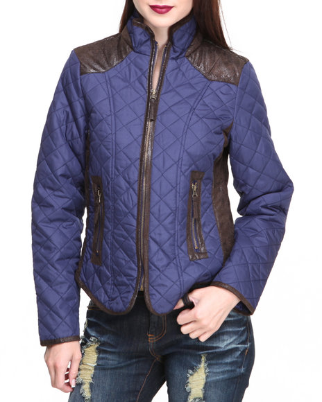 Fashion Lab - Quilted Light Weight Jacket