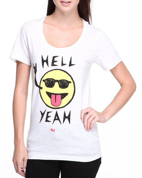 Glamour Kills - Women White Party Face Tee