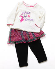 "Infant & Newborn - 2 PC ""FOLLOW YOUR DREAMS"" SET (NEWBORN)"